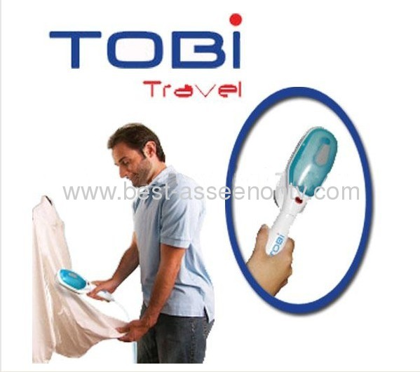 AS SEEN ON TV Travel Tobi steam brush Quick Handheld Steamer Travel Clothing Garment