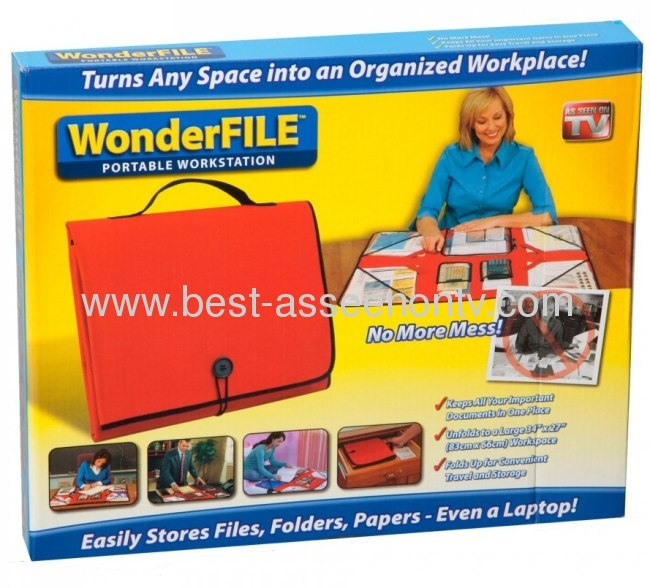 Wonder File/Wonder File Bag/Wonder File Folder as seen on tv