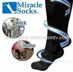 Miracle Socks/Handmade slimming anti-fatigue compression miracle socks as seen on tv