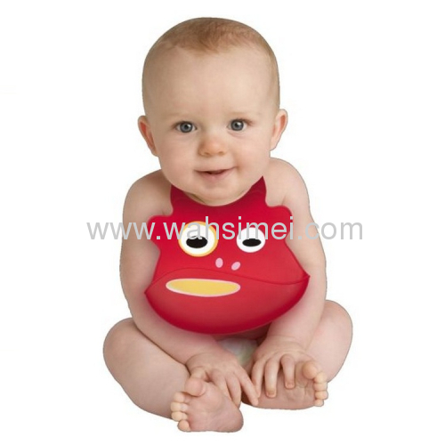 Fashion and Cute silicone baby bibs for discount