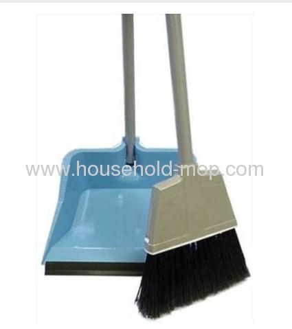 Flip Lock Dustpan and Broom