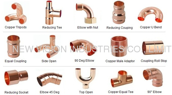 Air Conditioner Copper Fitting