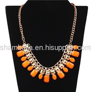 2013 Hot sale Metal Choker Bib Collar Necklace Costume Jewelry Wholesale