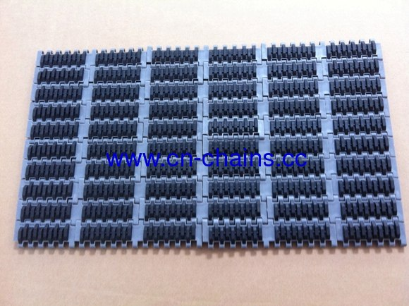 rubber top modular conveyor belt (RW-QNB rubber top)
