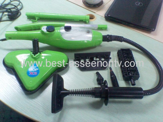 Coral pad cloth 5 in 1 Steam Mop Cleaner H2O Mop X5 Steamer Washable Microfiberfactory price