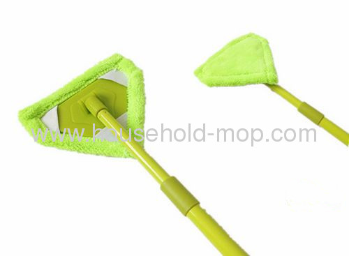 triangle microfiber mini duster with iron expandable handle