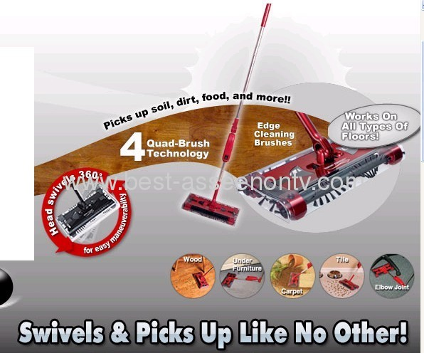 New Swivel Sweeper G2 /magci sweeper G2 cordless sweeper mop as seen on tv-let your life so clear and so easy