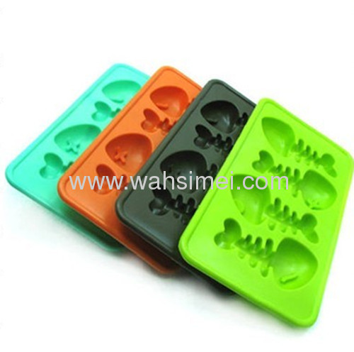 Lovely silicone ice cube mould