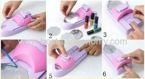 Nail Print Machine/New Arrival DIY Nail Printer/Nail Art Stamping Machine/Nail Makeover Kits/Nail Polisher