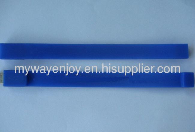 colorful silicon wristband usb memory stick with custom logo