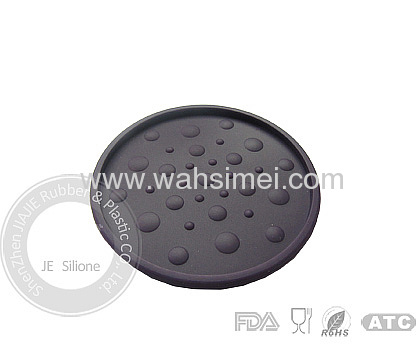 Round shape heat resistant silicone mats