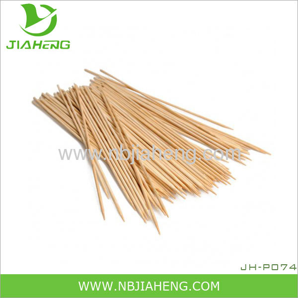 High quality natural bamboo barbecue skewer