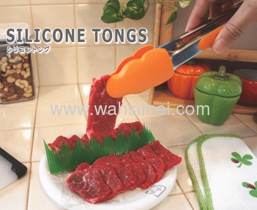 Hot-selling silicone tongs for kitchenware