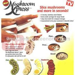 Hot sell Food Press With Brush/mushroom express as seen on tv