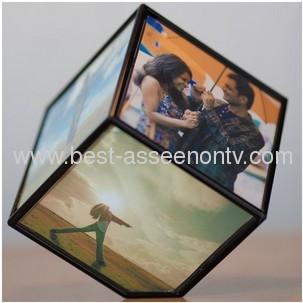 Revolving Photo Frame/Revolving Magic Cube Photo Frame/Revolve Photo Frame