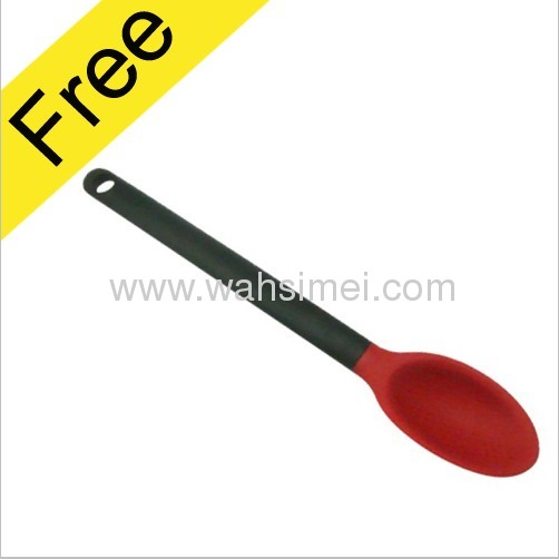 Cute And Fashionable Silicone Baby Spoon With Soft Tip