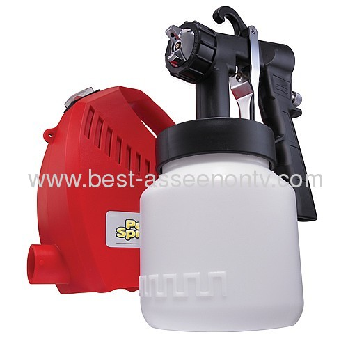 electric press paint gun paint zoom new paint sprayer pro red color 220v round plug steel nozzle