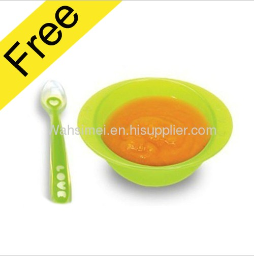 2013 Hot Sale Lovely Silicone Baby Spoons