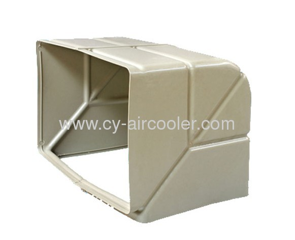 Evaporative Air Cooler Air Duct Bend Up And Down From