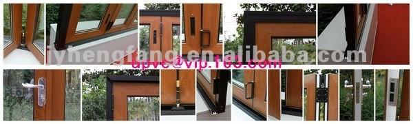 AU/NZ Wood color plastic bifold door folding doors interior upvc bi ...