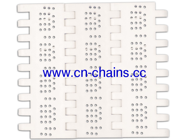 Perforated Flat Top Straight run modular conveyor belt (RW-PFTOPB)