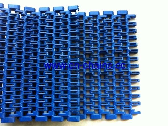 Flush grid straight running single linkmodular conveyor chains (RW - SNB M2TAB-K750)