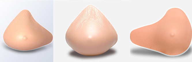 Popular round siamesed silicon breast prosthesis