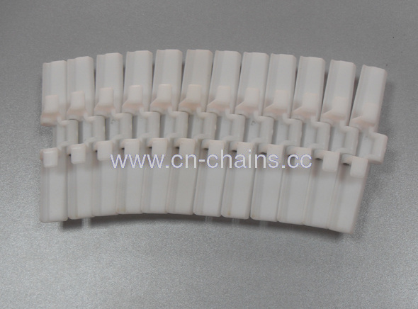 H8800TABplastic sideflexing table top LBP conveyor chains with bottom beads