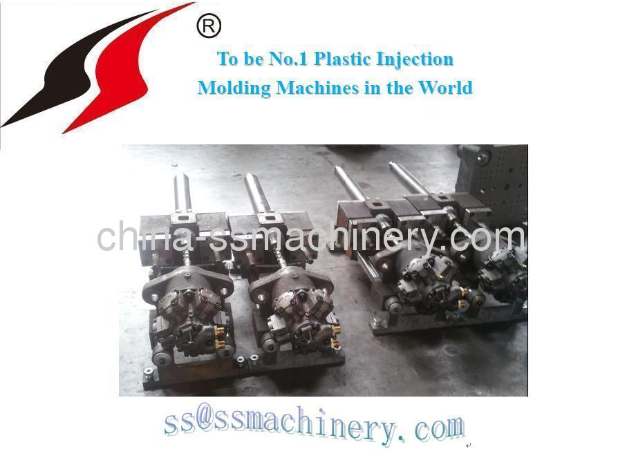 Horizontal 38T injection molding machine