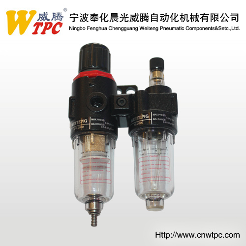 air source treament pneumtic FRLtwo league one FRL air control system Airtac AFC 2000