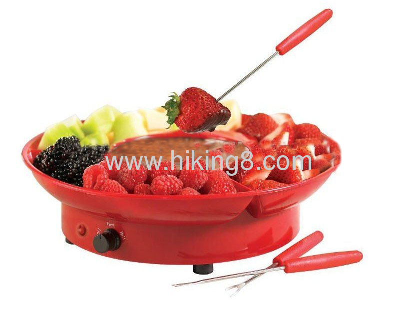 electric chocolate fondue with 25W