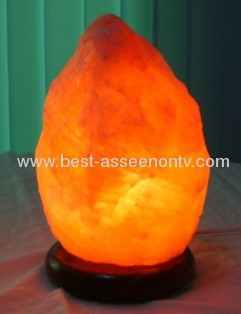 HIMALAYAN STONE SALT LAMP Large natural negative ion crystal salt stone lucky purification formaldehyde decoration lamp