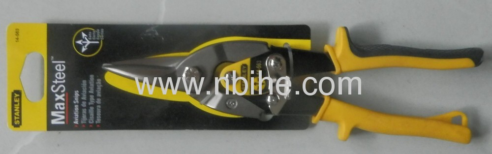 STANLEY 10Heavy Duty Aviation Snips with Compound Action
