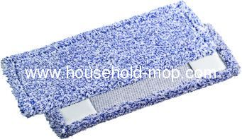 Microfiber fringed twist mop pad mop head