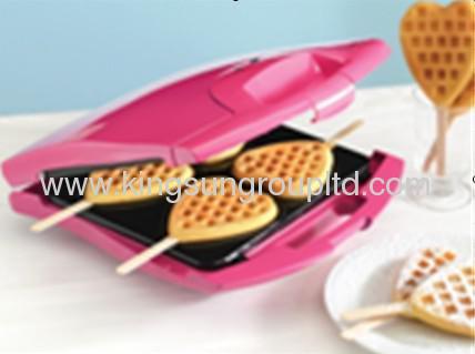4 slice HeartWaffle Maker