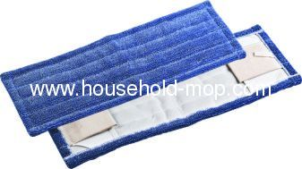 Wooden handle and cotton yarn mop head