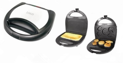 sandwich grill waffle maker