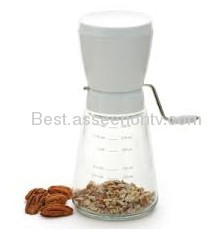 Gourment Nut Chopper Steel blade grinder nut chopper