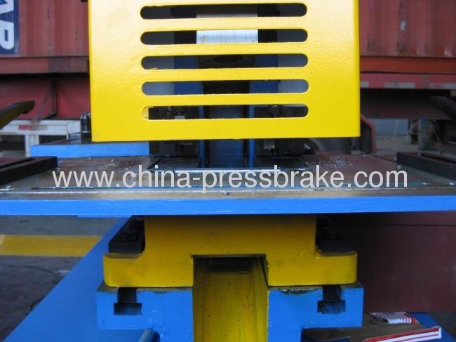 q35y series hydraulic iron worker