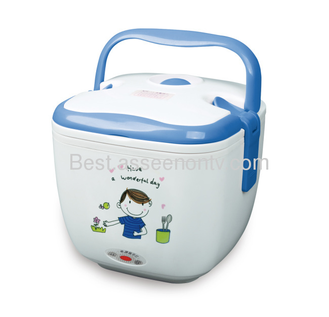 electric heating food containerheating lunch case as seen on tv