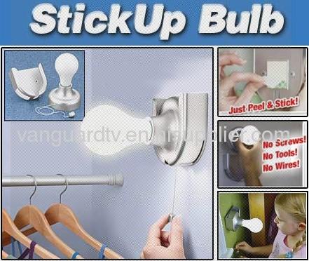 Stick Up Bulb / Stick Led Light / push light as seen on tv