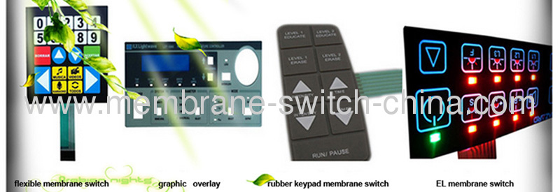 poly dome shielding membrane switches