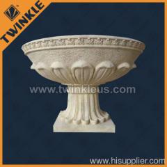 natural stone decorative planters