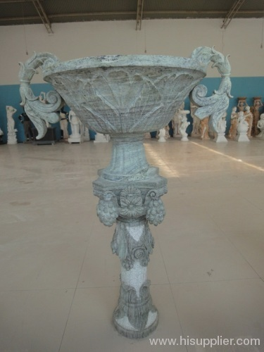 Garden decorative stone flower pots