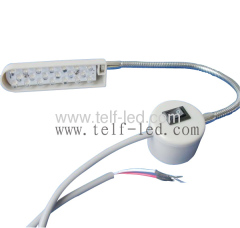 Double Needle Sewing Machine working light