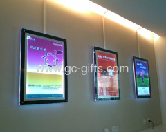 Acrylic led light boxes for picture display