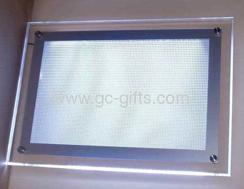 wallmounted slim led poster frame a2 size from china