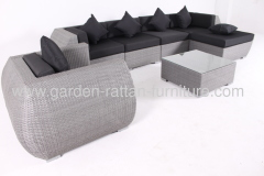 Outdoor rattan garden furniture patio design sofa set lounge