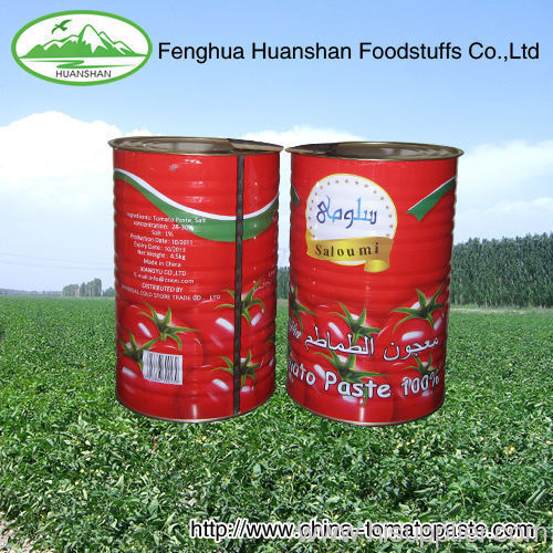 from factory supplier 100% pure canned tomato paste