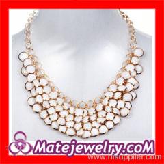 Statement Bubble Bib Collar Necklace
